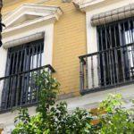 rejas de hierro para puertas en balcones