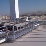 fabricacion y montaje de pasarela mastil telecomunicaciones